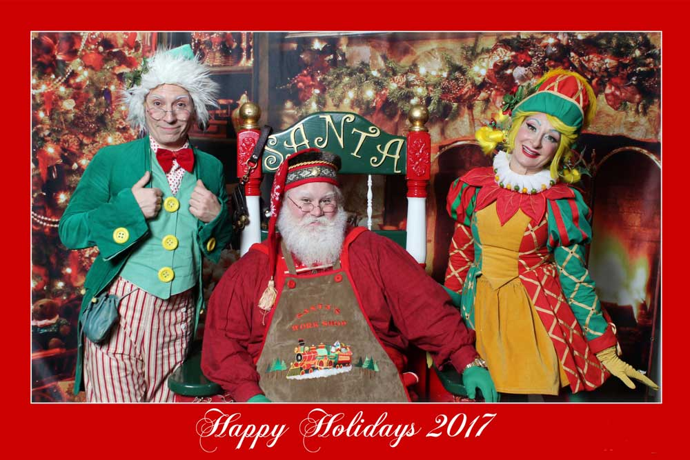 Holiday Event Photography, On site photo printing, Santa Photos